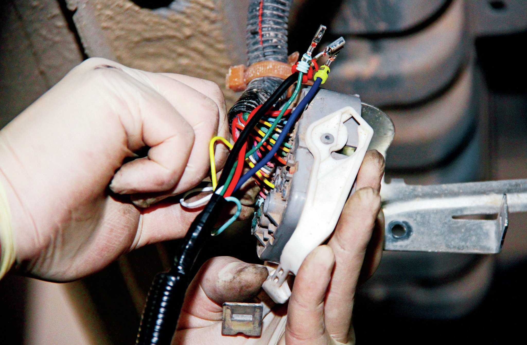 Installation Of A Trailer Wiring Harness On A 2012 Honda Civic