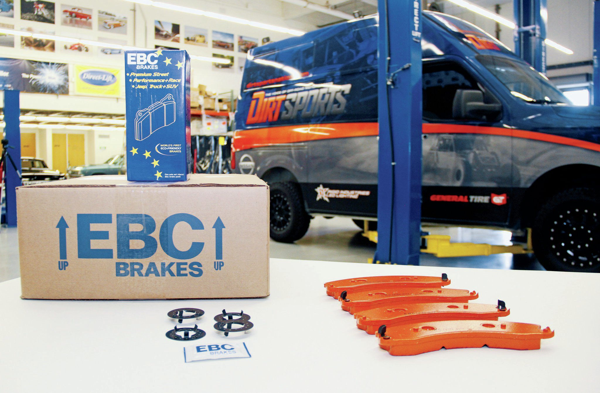 EBC supplied us with their performance brakes.