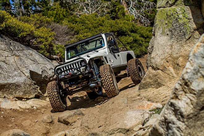 V-8 Engine & Race Suspension Make This Jeep Nearly Perfect
