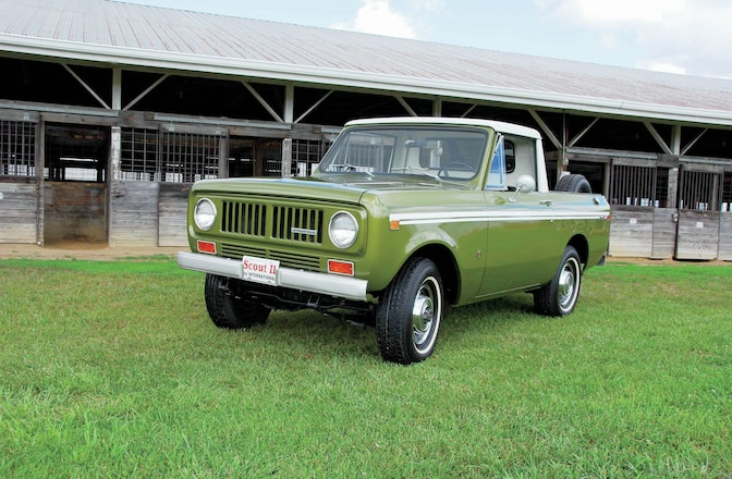 1973 International Scout II Pickup - Backward Glances