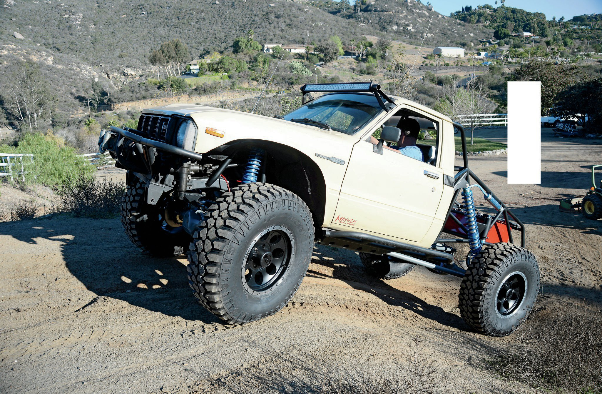 Finishing up the Coilover Conversion on Our 1981 Toyota Trekker
