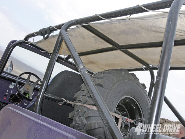 0901 4wd 14 z+1964 jeep cj 6+custom roll cage