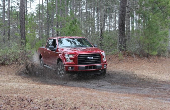 2015 Ford F-150 Sport Mode Adds To Aluminum Truck's Performance