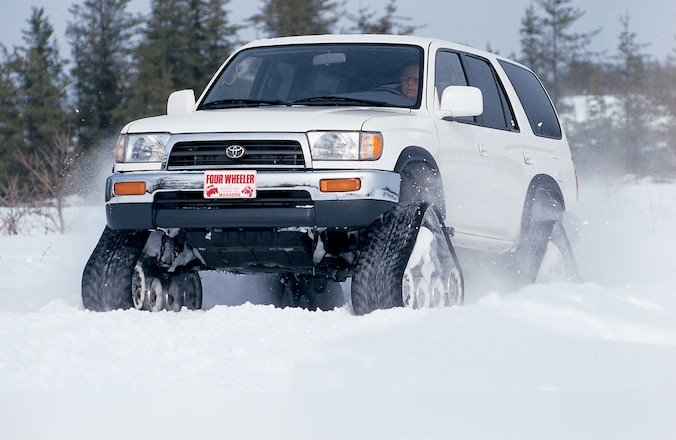 Trail's End - July 1997: A Look at Toyota's Track Drive System