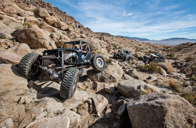 Taking Recreational Rockcrawling to the Next Level In Johnson Valley