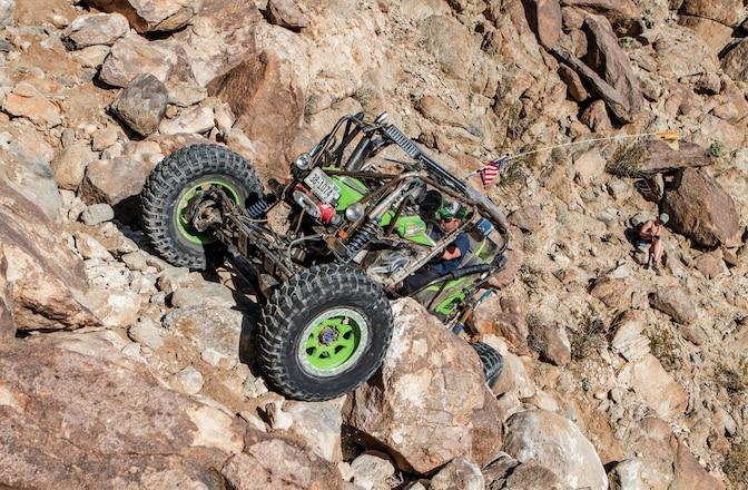 Rock Dawg Crawls Backdoor at KOH