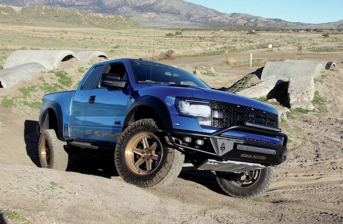 Roush & GAS Combine To Give This 2013 Ford Raptor 590 HP