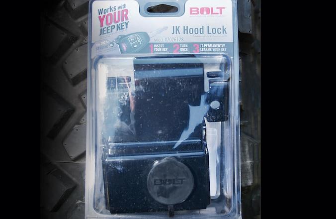 Jeep JK Hood Lock Install