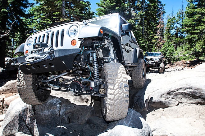 Suspension lift systems and components for 4x4s