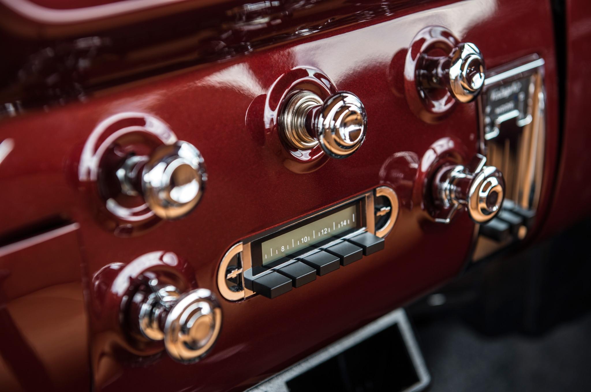 1957 chevrolet task force napco legacy classic trucks bluetooth radio