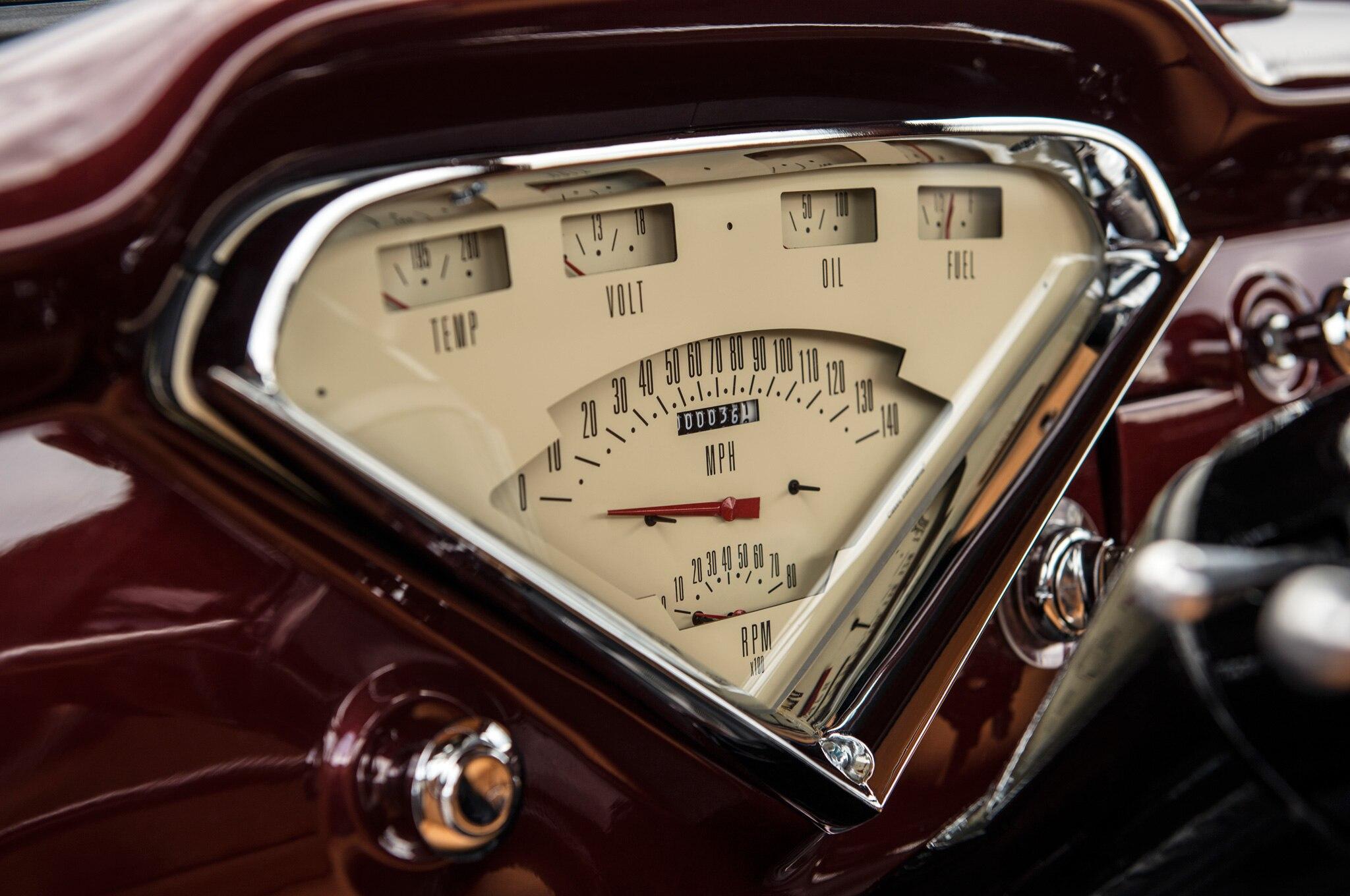 1957 chevrolet task force napco legacy classic trucks gauges