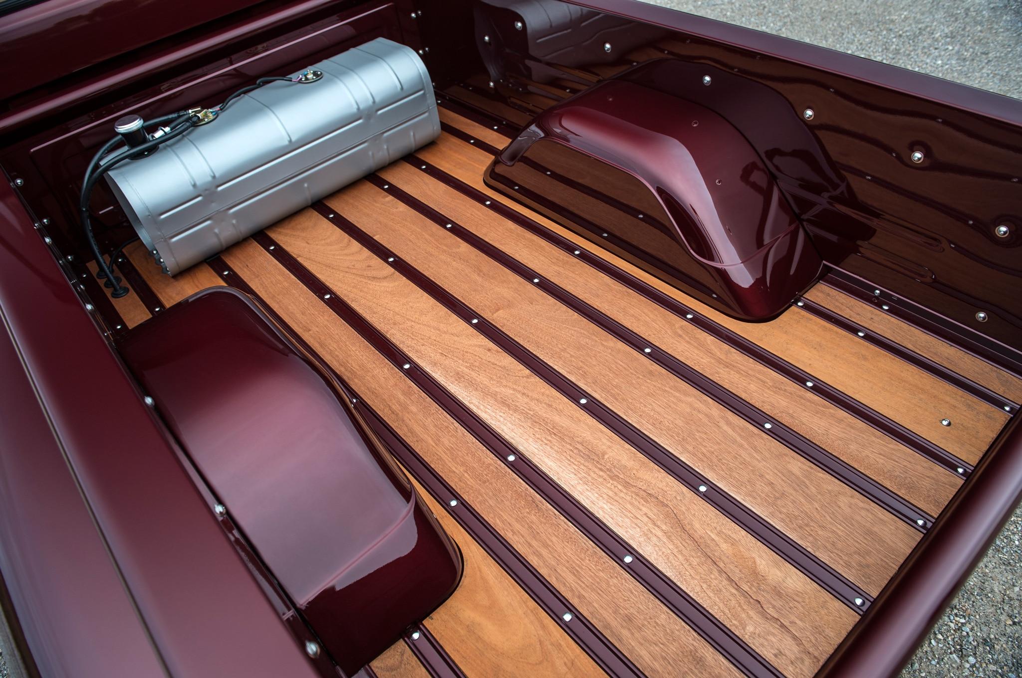 1957 chevrolet task force napco legacy classic trucks sapele wood bed floor