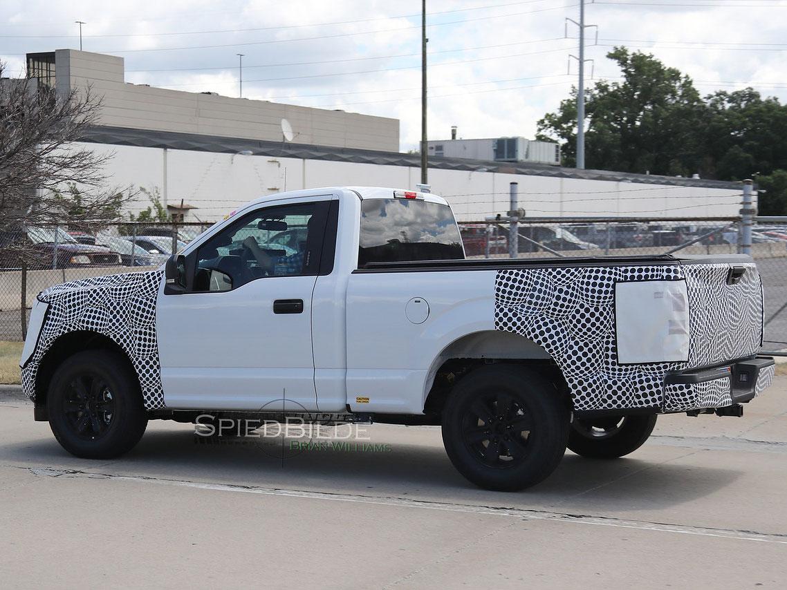 2018 ford f 150 single cab side shot
