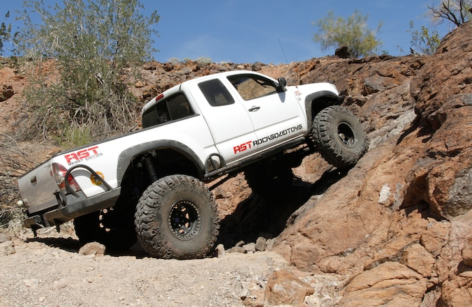 This Built 2006 Toyota Tacoma Commands The Street and Trail