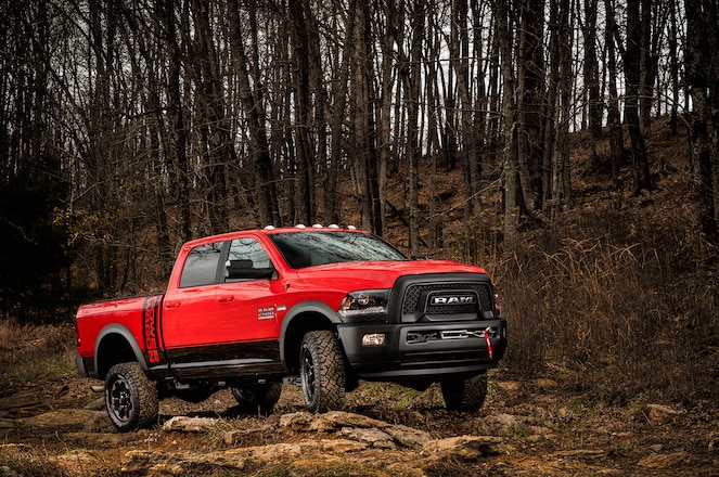 First Look: 2017 Ram 2500 4x4 Off-Road Package, Power Wagon, and Rebel