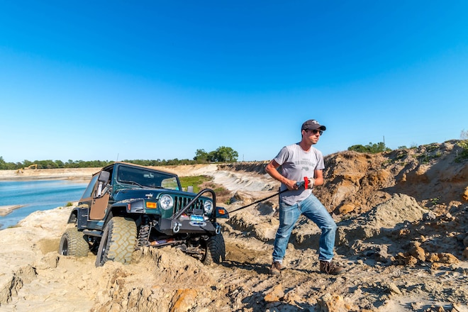 Farm Jeep: We Put Rough Country's Stubby Winch Bumper And RS9500 Winch To Use