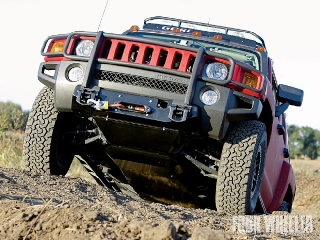 Project Trailhugger Hummer H3 Winch & Skid Plate - Underbody Upgrades