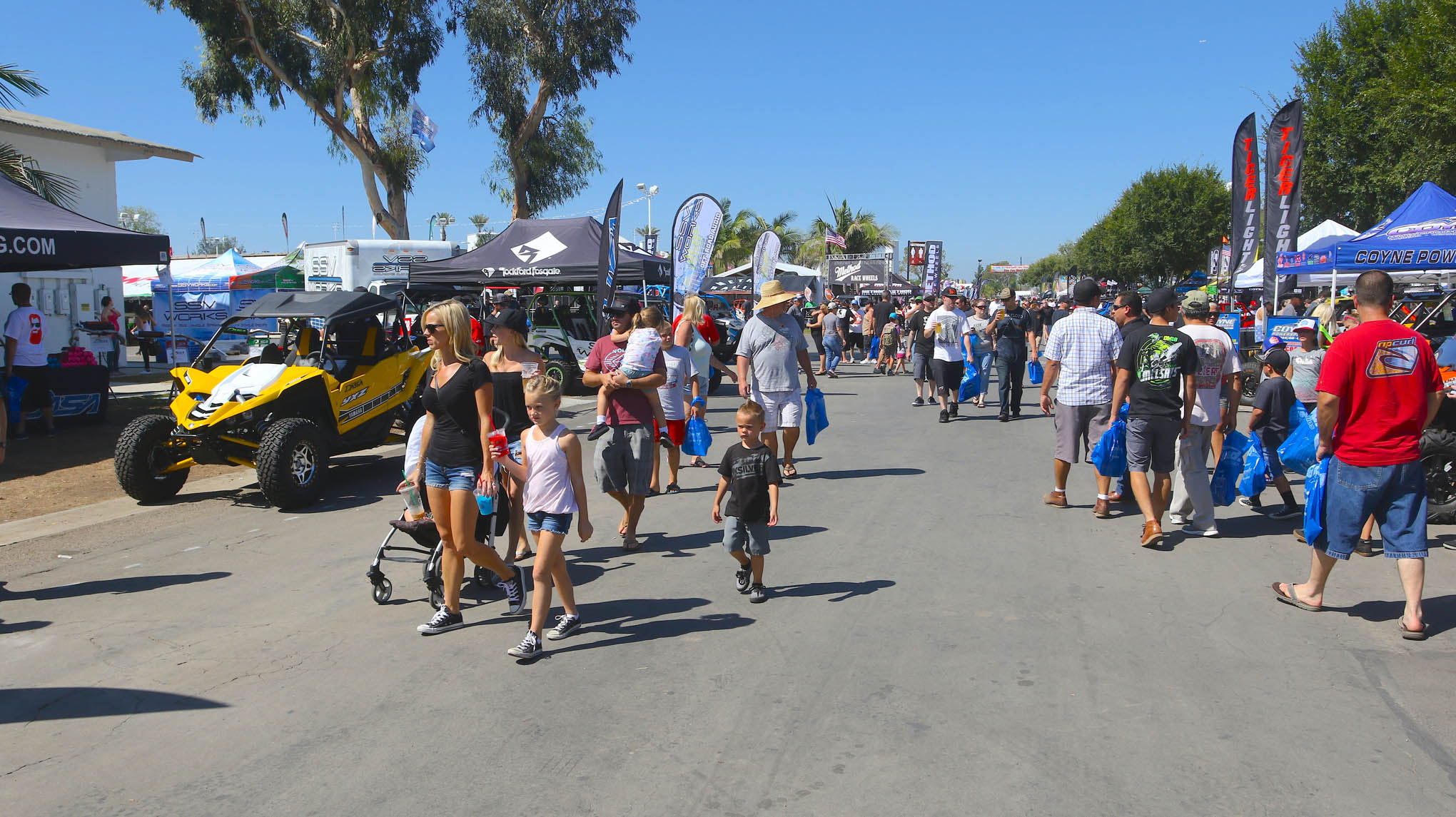 A beautiful weekend greeted the attendee's of the 18th Annual Sand Sport Super Show.