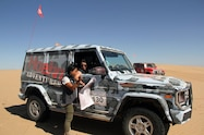 2016 rebelle rally day three gwagen mapping