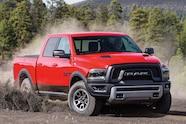 001 2015 ram rebel 1500 pickup truck 4x4 offroad front burnout sliding