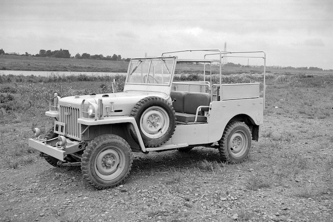 "Toyota ""Jeep,"" The First Land Cruiser"