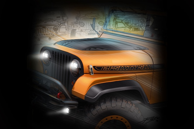 FCA Teases 2016 SEMA Concepts – Power Wagon, Wrangler Among Them #TENSEMA16