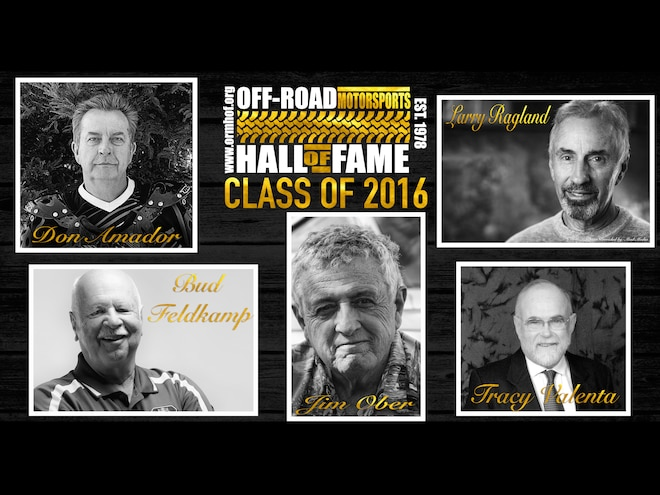 Off-Road Motorsports Hall of Fame Announces 2016 Inductees