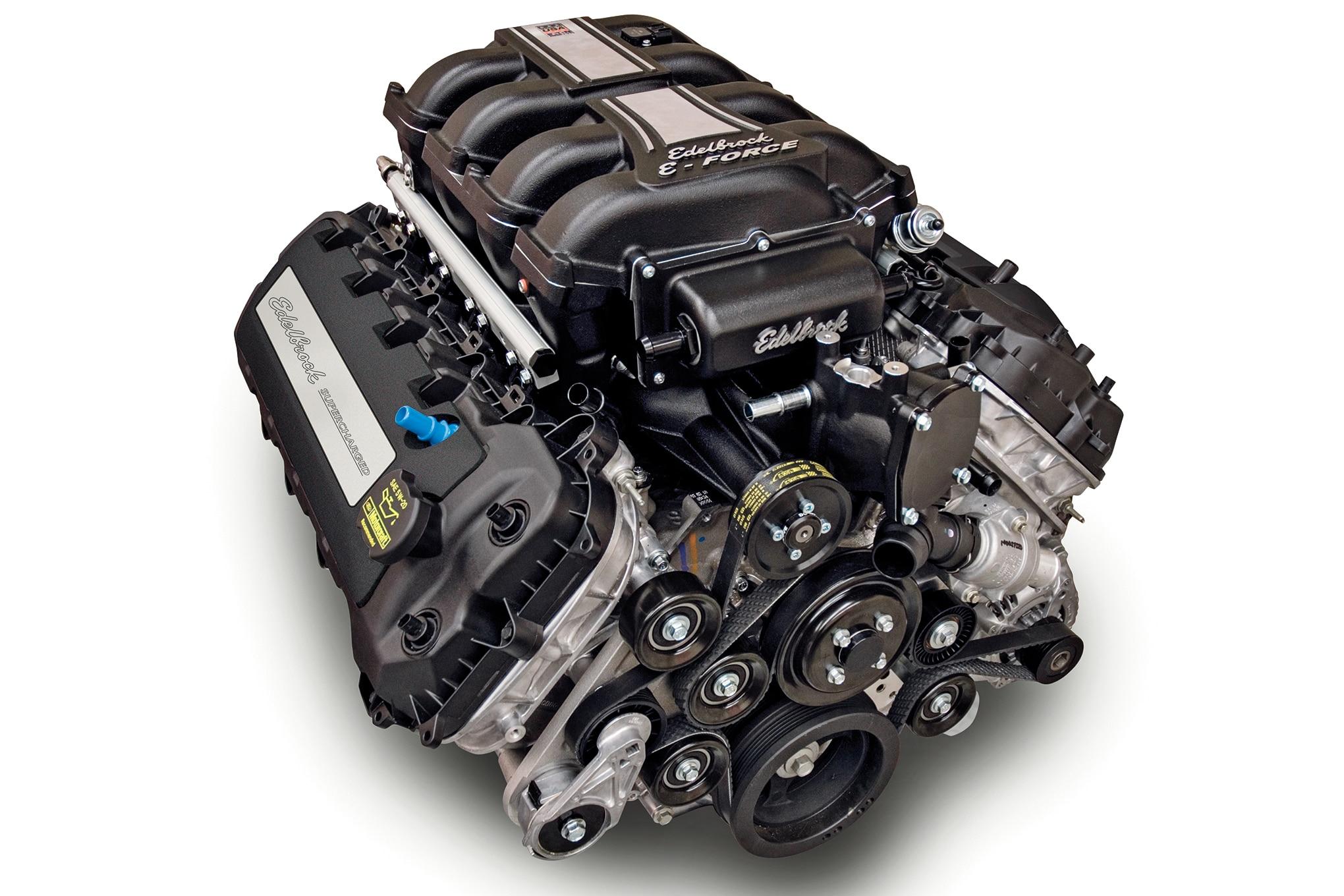 003 edelbrock e force crate engine