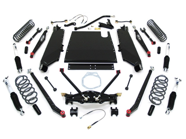 129 0901 01 z+1997 2005 jeep tj suspension+pro comp kit
