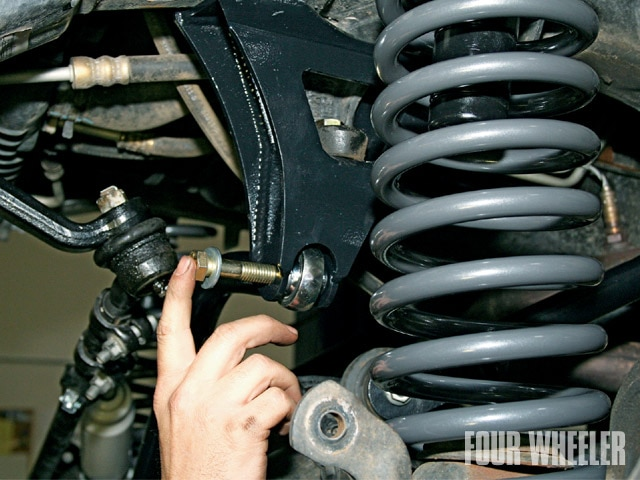 129 0901 05 z+1997 2005 jeep tj suspension+front track bar