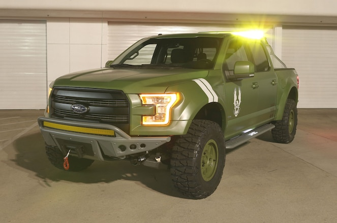 Ford F-150 Halo Sandcat is Ready for Interplanetary Action