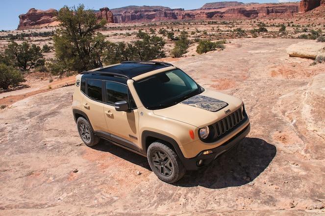 2017 Jeep Renegade Gets Deserthawk, Altitude Trims