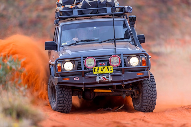 ARB's 1991 Nissan GQ Patrol Attacks Australian Outback