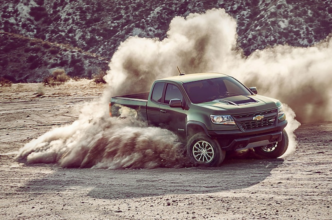 Long-Rumored 2017 Chevrolet Colorado ZR2 Takes an Official Bow in Los Angeles