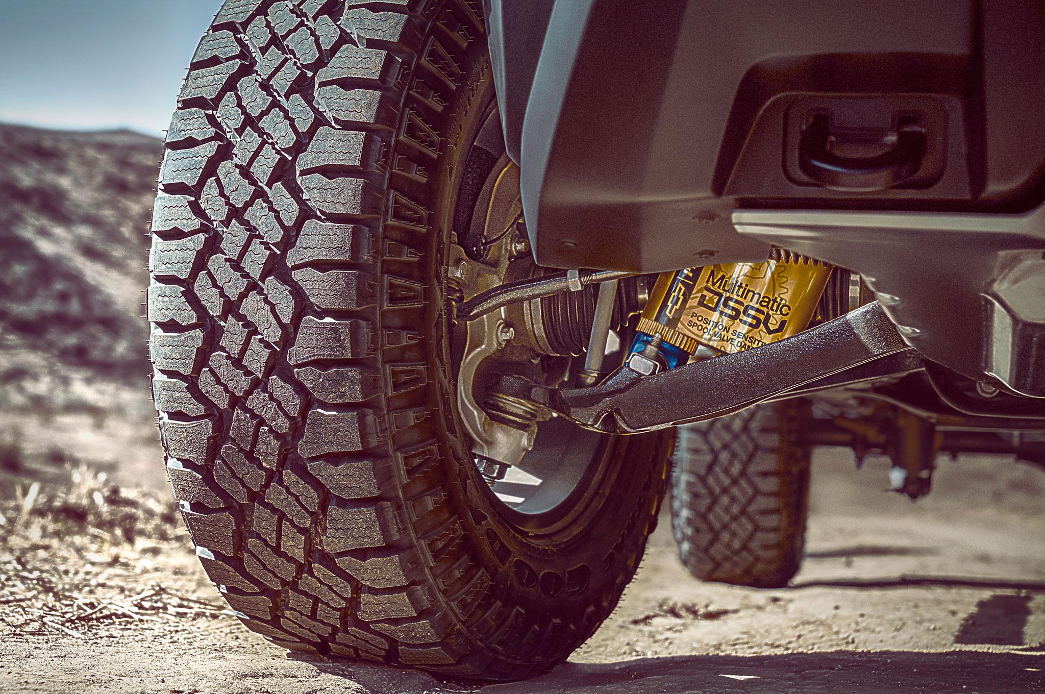 2017 chevrolet colorado zr2 front suspension components
