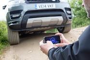 2016 Range Rover Sport Remote Control front app