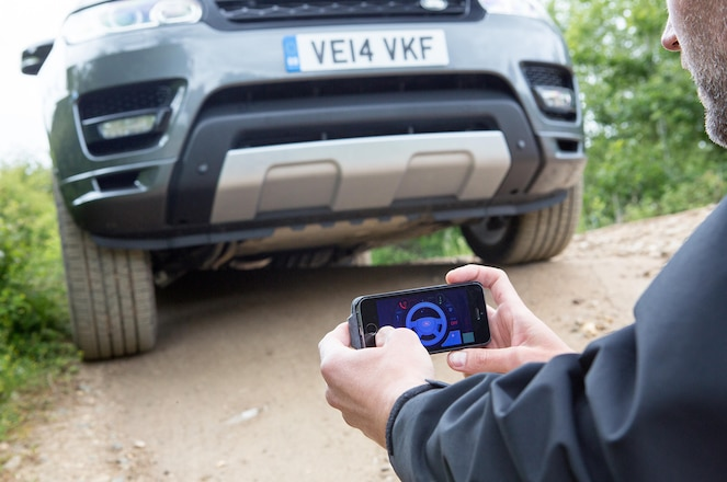 Remote-Controlled Range Rover Lets You be Your Own Spotter