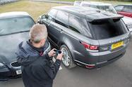 2016 Range Rover Sport Remote Control parking