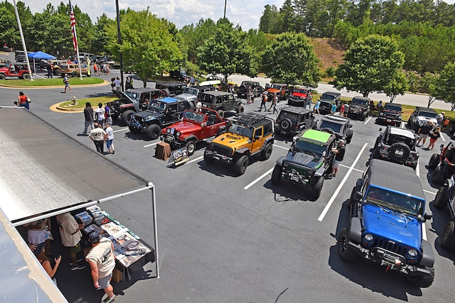 Check Out The World's Largest Historic Jeep Collection