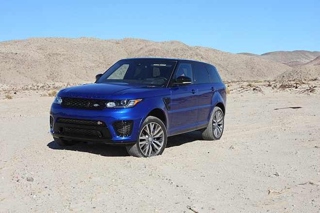 2016 Range Rover Sport SVR Long Term Report 1