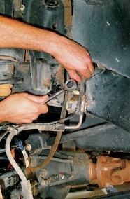 brake line removal