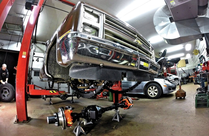 Strapping On The Bug-Out Blazer's Performance-Leaf Suspension