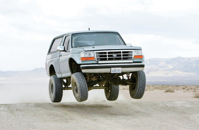 A Minty 1996 Ford Bronco That Crawls and Flies