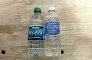 dasani aquafina water bottles