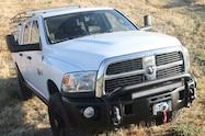 2010 ram truck aev bumper