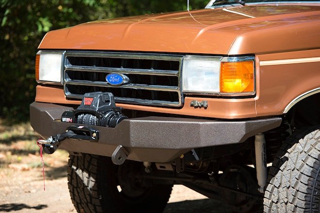 JB Custom Fabrication's Heavy-Duty Winch Bumper For '87-'96 Ford F-150 and Bronco