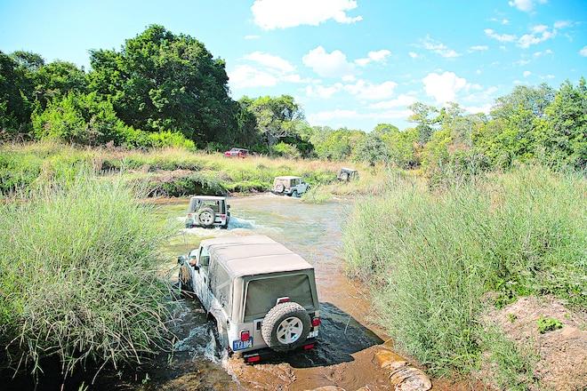 Trail's End: December 2006, Wheeling The Jeep JK In Zambia