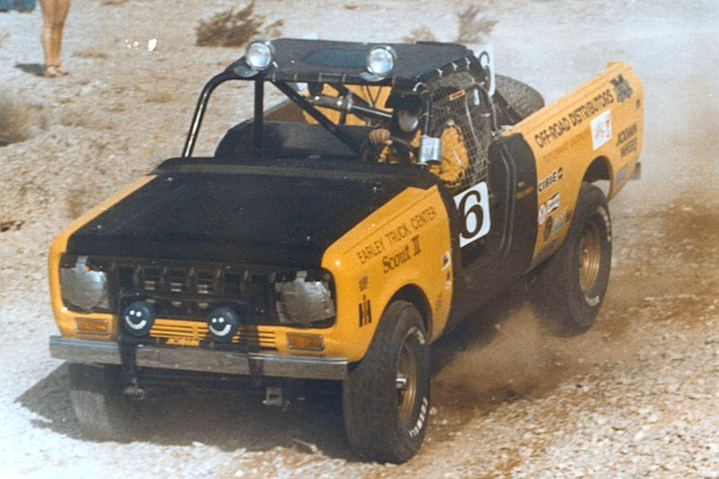 Scout SCORE: Frank Howarth's Factory Sponsored IH Scout Racer