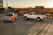 auto news four wheeler the nissan titan new single cab crew cab xd trucks