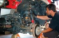 suspension install